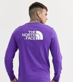 Фиолетовый лонгслив The North Face - Easy эксклюзивно для ASOS