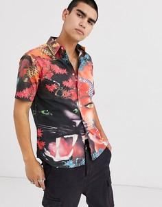 Рубашка с короткими рукавами RIPNDIP-Мульти