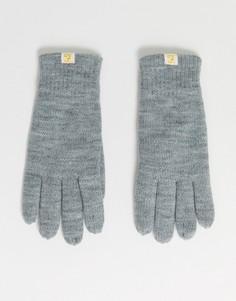 Серые перчатки на подкладке Farah-Серый