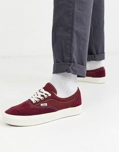 Бордовые кроссовки Vans ComfyCush Era-Красный