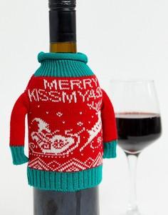 Джемпер для бутылки вина Typo-Мульти