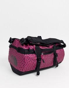 Розовая спортивная сумка The North Face Base Camp-Розовый