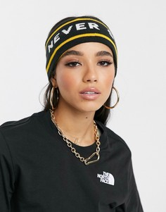 Желтая повязка на голову The North Face Chizzler-Черный