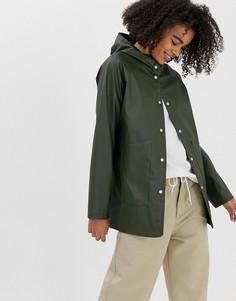Водонепроницаемая куртка с капюшоном Herschel-Зеленый