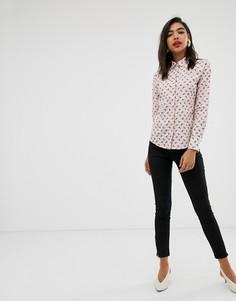 Эластичные зауженные брюки с молнией Max & Co-Черный
