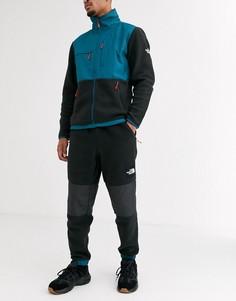 Синие/черные флисовые брюки The North Face Denali-Синий