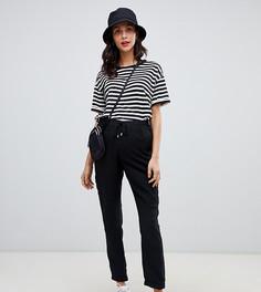 Черные джоггеры с карманами в стиле милитари New Look Maternity-Черный