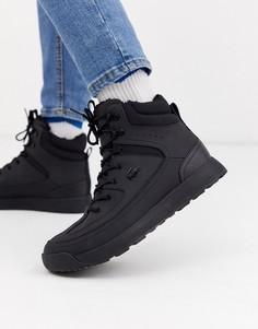 Черные походные ботинки Lacoste urban breaker-Черный