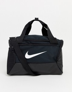Черная небольшая спортивная сумка Nike-Черный