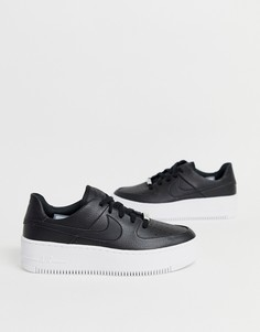 Низкие кроссовки Nike Black Air Force 1-Черный