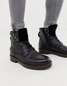 Черные кожаные ботинки Levis-Черный Levis®