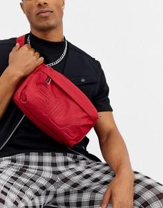 Красная сумка на пояс с логотипом Fila Daws-Красный