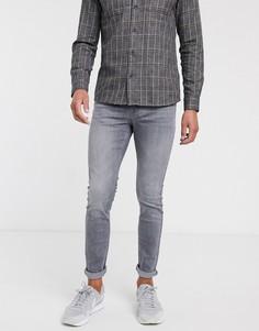 Серые джинсы скинни New Look-Серый