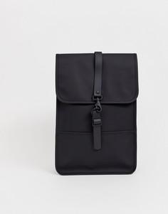 Черный непромокаемый рюкзак Rains 1280