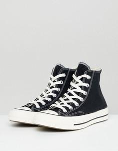 Черные высокие кеды Converse - Chuck 70-Черный