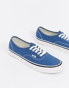Темно-синие кроссовки Vans Anaheim Authentic 44 DX-Темно-синий
