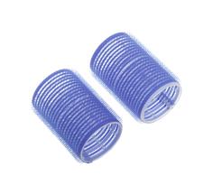 Аксессуар для волос Dewal Бигуди-липучки d=52 мм Синий 6 шт