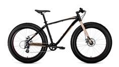 "Велосипед Forward Bizon 26 черный/бежевый 18"" RBKW9W668002"