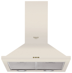 Вытяжка купольная Hotpoint-Ariston HHPN 6.5F LM OW White