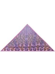 Платок женский Eleganzza D12-1180 фиолетовый/розовый