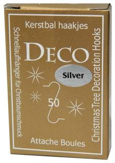 Крючок для елочных украшений Kaemingk 400004 Серебристый
