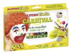Набор Alpino для детского макияжа Мега праздник 6 цветов по 5 гр Alpino (Альпино)