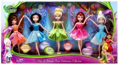 Набор кукол Disney Дисней Феи набор из 5 кукол 88577