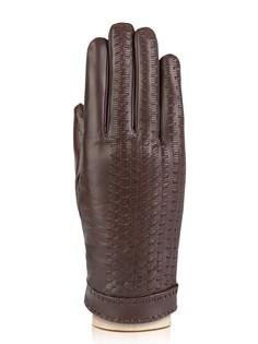 Перчатки мужские Eleganzza F-IS0110 коричневые 9