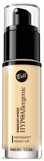 Тональный крем Bell Mat&soft Make-up 03 30 мл