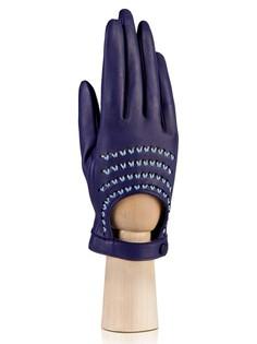 Перчатки женские Eleganzza F-IS0711 синие 7.5