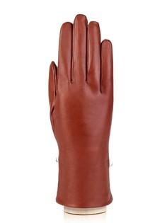 Перчатки женские Eleganzza F-IS5500-BRG коричневые 6.5