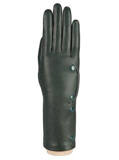 Перчатки женские Eleganzza F-IS0062 зеленые 6.5