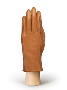 Перчатки женские Eleganzza F-HP0058 коричневые 7.5