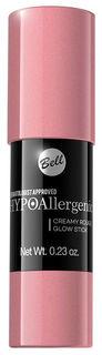 Румяна Bell Hypoallergenic Creamy Rouge Glow Stick 01 6,5 г