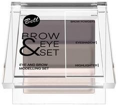 Набор для макияжа BELL Brow And Eye Modelling Set 001 25 г
