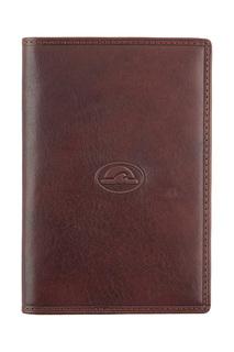 Обложка для паспорта мужская Tony Perotti 303435-2 коричневая