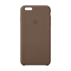 Кейс Apple для iPhone 6 Plus Leather Case Olive Brown MGQR2