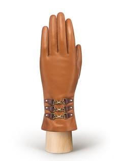 Перчатки женские Eleganzza F-HP1992 коричневые 7.5