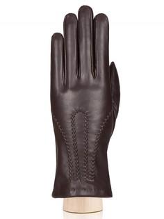 Перчатки женские Eleganzza IS951 коричневые 7.5