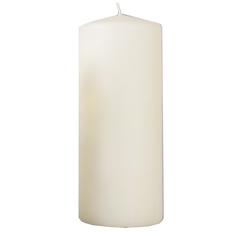 Свеча столбик, 200*80 мм, слоновая кость 079817 Омский Свечной