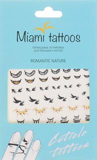 Флэш-тату MIAMI TATTOOS Romantic Nature, МТ0007