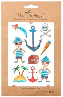 Акварельные переводные тату MIAMI TATTOOS Pirate, МТ0011