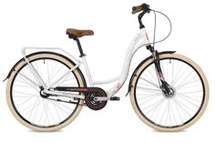 "Велосипед STINGER Barcelona EVO 28 2019 17"" белый"