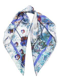 Платок женский Eleganzza E03-7192 синий
