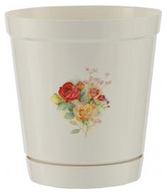 Горшок цветочный Palisad Глэдис роза 1,2 л