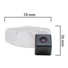 Камера заднего вида BlackMix для для Toyota Yaris Седан с основой из прозрачного пластика