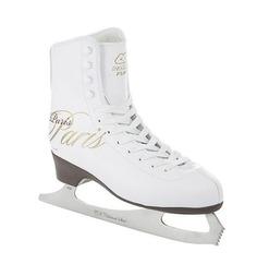 Фигурные коньки PARIS LUX fur (белый), Белый (38) Спортивная Коллекция