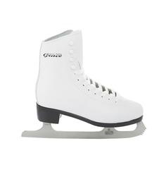 Фигурные коньки GRACE leather (белый), Белый (33) Спортивная Коллекция