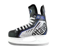 Хоккейные коньки OTTAWA (черный), Черный (38) Спортивная Коллекция