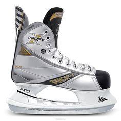 Хоккейные коньки PROFY Z 2000 (серый), Серый (44) Спортивная Коллекция